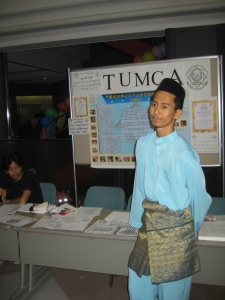 Representing Tohoku University Muslim Cultural Association (TUMCA) in World Festa 2007